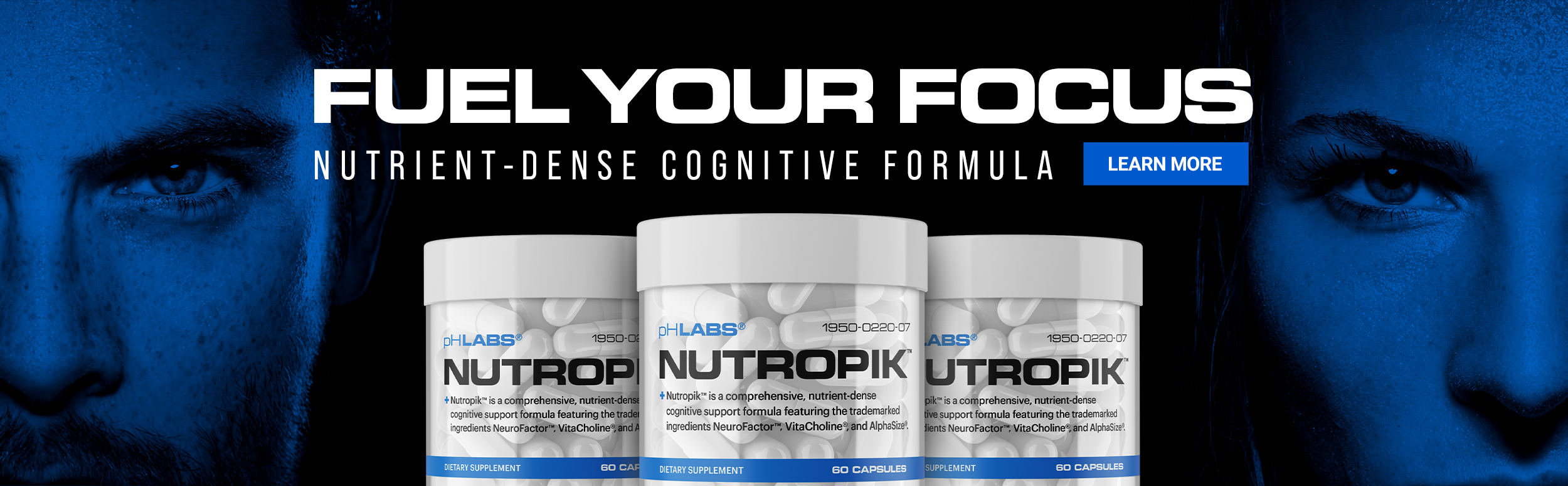 phLabs - Nutropik - Nutrient dense cognitive formula - Click to Learn More